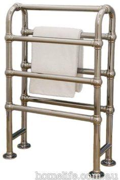 Love this vintage towel rack  Best bathroom towel racks gallery 5 of 6 - Homelife