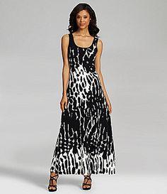 Calvin Klein AbstractPrint Maxi Dress #Dillards