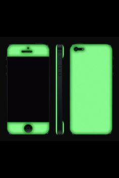 Adaptation LA 20501 iPhone 5 Glow in the Dark Gel Skin