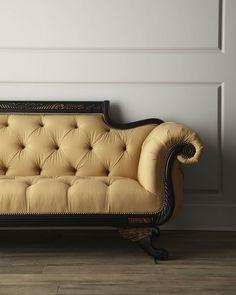 Duncan Phyfe Sofa....like the tufted back