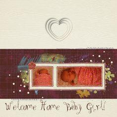 Welcome Home using Autumn Art Bundle at www.pixelscrapper.com