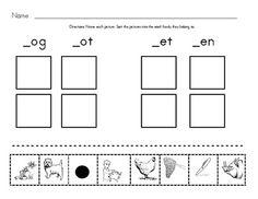 classroom, school, kindergarten word families, phonemic awareness, word families free