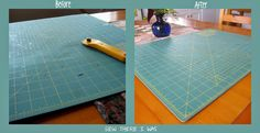 Sew There I was.....: taking care of your cutting mat