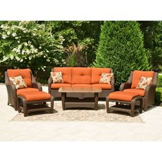 $1599 same as upstairs, difference color   Biscayne Club Outdoor Seating Set - 6 pc. - Sam's Club