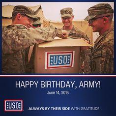 Happy Birthday @U.S. Army #ArmyBDay