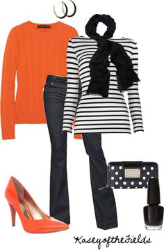 """Halloween Preppy"" by kaseyofthefields on Polyvore"