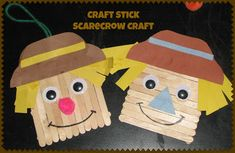 Funny Scarecrow! Kindergarten Craft 3 | Craft To Art