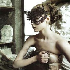 lace, masquerade ball, venetian masks, vogue italia, masquerade masks