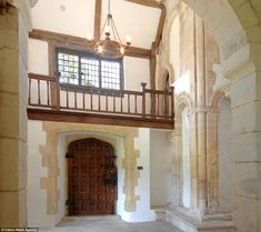 Austere: This hallway gives an indication of the sparse conditions once endured by the monks at Horton