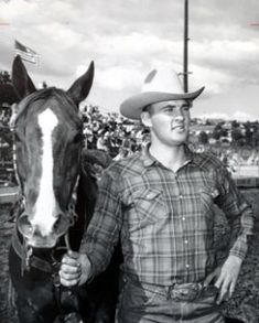 Roy Duvall: 3 time World Champion Steer Wrestler, Hall of Fame Inductee 1979.