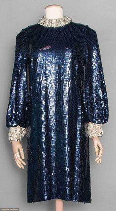 Balmain Couture Party Dress, Paris, C. 1968, Augusta Auctions, November 12, 2014