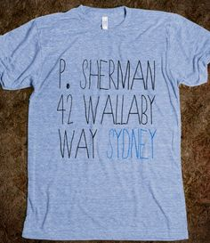 P. Sherman 42 Wallaby Way, Sydney