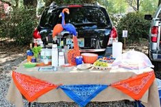 Tailgate Ideas and Tips!