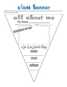 idea: have teachers/students do this and decorate as college pennant (either where they went or where they want to go)