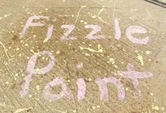 CHALK - fizzle paint