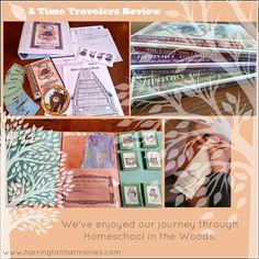 Homeschool in the Woods Time Travers Review | Harrington Harmonies