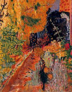 The Garden by Pierre Bonnard