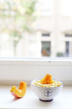 Porridge with pumpkin