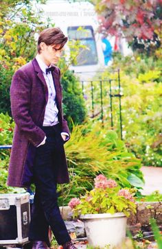 The purple frock coat <3 I wish he'd had more chance to wear it than half a series...