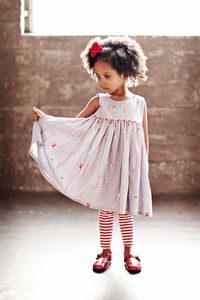 ZozoBugBaby's Swing Dress, as seen in Parenting Magazine!