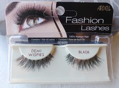 Demi wispies. The best style of false eyelashes everrrrr.