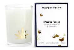 Coco Nuit with Fresh Cannibas Candle