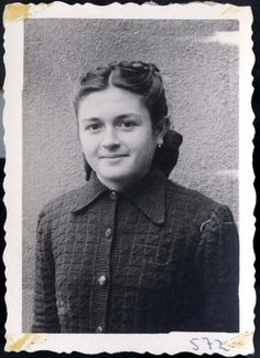 Trzebinia, Poland, A Jewish woman from the Mendler family