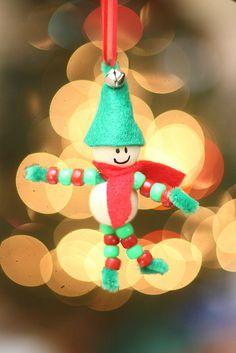 A cute elf ornament