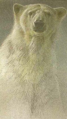 Robert Bateman Arctic Landscape Polar Bear