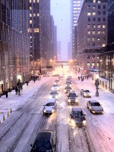 Looking east down 7th Street from the IDS/Gaviidae Skyway - Downtown Mpls.