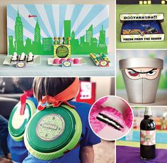 Teenage Mutant Ninja Turtles Birthday Party