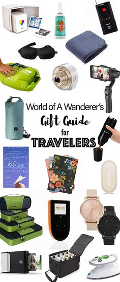 Gift ideas for trave