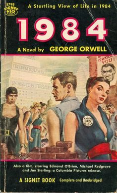 Orwell's great novel and I were born the same year.