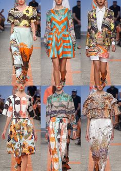 MSGM Milan Fashion Week, Spring/Summer 2014 - it's all about prints!