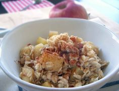 "Apple Cinnamon ""Perfect"" Oatmeal 