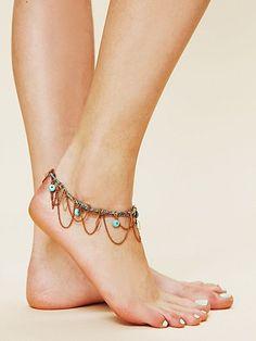 Meadow Ankle Bracelet