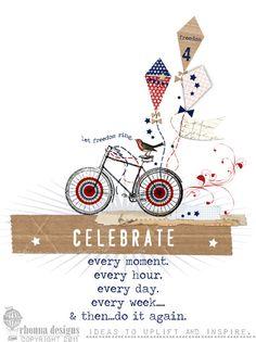 celebrate.