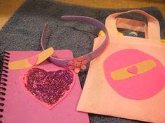 Doc McStuffins party crafts/favors