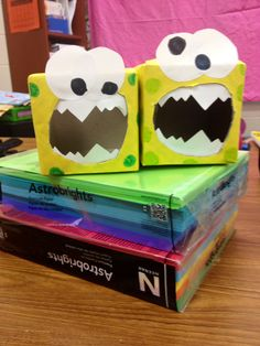 Monster Party Decorations-tissue box
