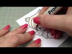 Pro Marker Tutorial : Blonde Hair