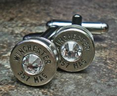 357 Magnum Winchester Nickel Bullet Head by StuffandThingz on Etsy, $18.99.  Gift for Dad
