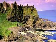 bucket list, favorit place, northern ireland, beauti sunset, dunluc castl, humbl hous