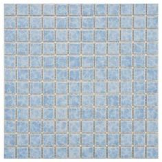 Merola Tile Watersplash Square Alboran 11-3/4 in. x 11-3/4 in. Porcelain Mosaic Floor and Wall Tile-FYFW1SAL at The Home Depot