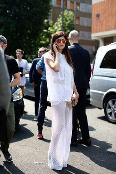 milan street, fashion weeks, valentina siragusa, men fashion, street styles, white lace, ss14 street, birds, milan men