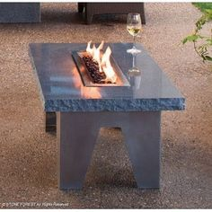 forests, coffee tables, fire tabl, outdoor fires, outdoor living, fireplac, outdoor tables, stones, design