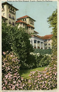 Raymond Hotel 1910, Sumner Hunt (demolished)