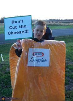 Don't Cut the Cheese!!! - DIY Halloween Costume
