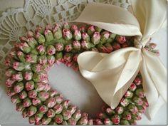 Rosebud wreath the doors, rosebud wreath, pretti wreath, heart wreath