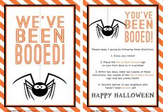 It's Written on the Wall: {16 Versions} You've Been BOOed! Fun Treats for the Neighborhood!