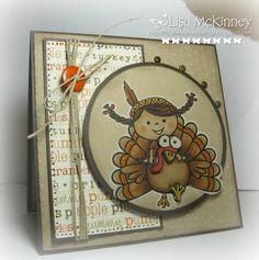 Thanksgiving card  cute!